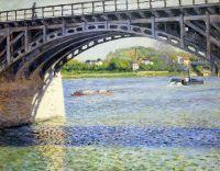 Мост Аржантей и Сена