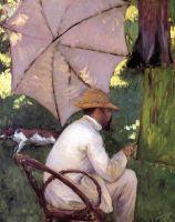 Художник под зонтом