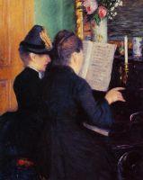 Урок игры на фортепиано