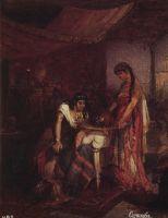Саломея приносит голову Иоанна Крестителя своей матери Иродиаде