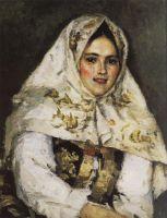 Сибирская красавица. Портрет Е.А.Рачковской