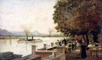 Бонн. Рейн. Начало 1870-х