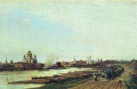 Вид Москвы с Бабьего городка