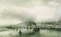 Вид на Нижний Новгород с Волги