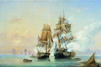Захват катером Меркурий шведского фрегата Венус 21 мая 1789 года
