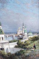 Москва. Вид Кремля