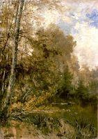 Осень в селе Глебово-Стрешнево