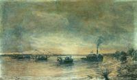 Постановка сфероконических мин на Дунае 1878 год