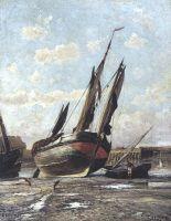 Трепор. Отлив в гавани