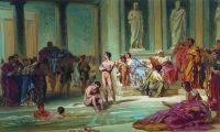 В римских банях
