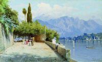 Вид на озеро Комо