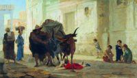 Дети на улице Помпеи