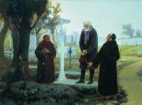 Изгнанник перед могилой
