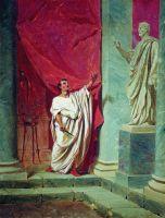 Клятва Брута перед статуей