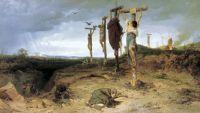 Проклятое поле. Место казни в Древнем Риме. Распятые рабы