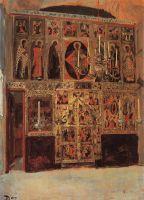 Благовещенский собор. Придел собора Пресвятой Богородицы в главе