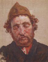 Голова рыжеволосого мужчины в желтой ермолке