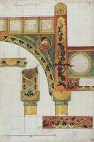 Детали золотых ворот