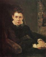 Портрет В.Д.Хрущевой, сестры художника
