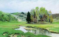 Речка Свинка близ Алексина