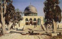 Харам Эш-Шериф - площадь, где находился древний иерусалимский храм