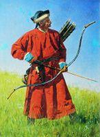 Бухарский солдат (сарбаз)