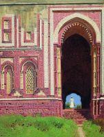 Ворота около Кутуб-Минара. Старый Дели