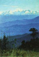 Гималаи вечером