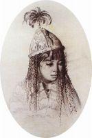 Киргизская девушка