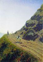 Кочевая дорога в горах Алатау