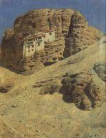Монастырь в скале. Ладакх