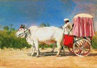 Повозка в Дели