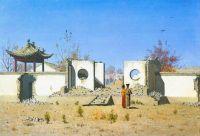 Развалины китайской кумирни. Ак-Кент
