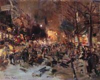 Бульвар в Париже