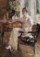 Дама в кресле