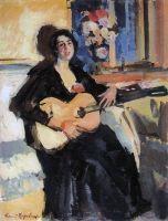 Дама с гитарой