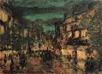 Ночная улица. Париж