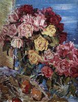 Розы на фоне моря