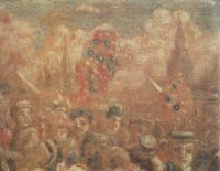На вербе. Вербное воскресенье на Красной площади