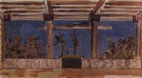 Апполон и Диана, избивающие детей Ниобеи