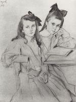 Девочки Н.А. и Т.А.Касьяновы.