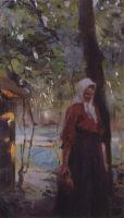 Женщина с крынкой. Конец XIX - начало XX века
