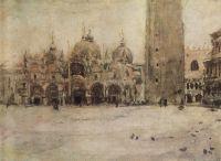 Площадь Св.Марка в Венеции.
