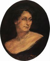 Портрет А.М.Стааль.