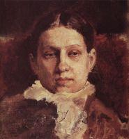 Портрет В.А.Репиной.