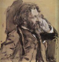 Портрет И.Е.Репина.