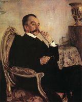 Портрет кн. В.Н.Голицына.