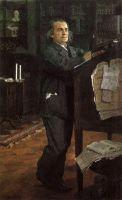 Портрет композитора А.Н.Серова, отца художника.