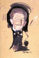 Портрет Льва Бакста.