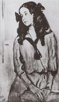Портрет Н.З.Раппопорт.